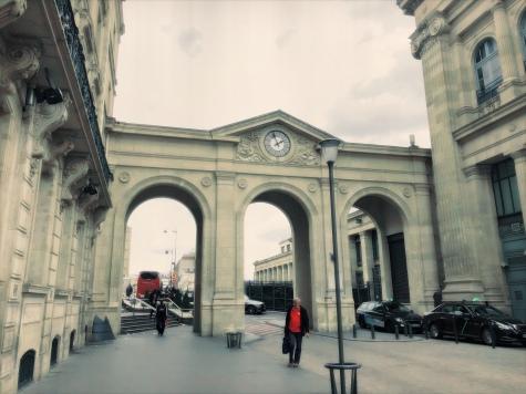 Achterkant van Gare du Nord