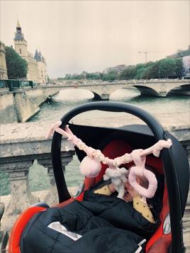 Ziggy aan de Seine