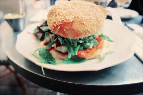 Veggie Burger @ L'Eclaire