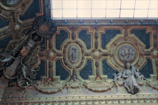in het Louvre