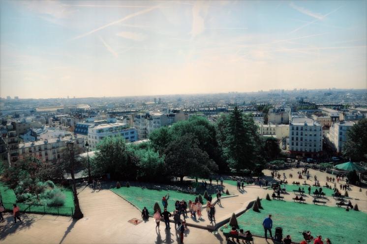 Uitzicht vanaf de Sacre Coeur