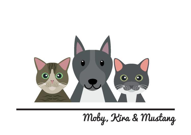 Moby, Kira & Mustang