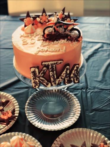 De mooie taart!