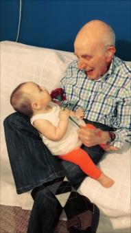 Overgrootvader met Ziggy