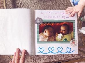 Prachtig boek met allemaal foto's van Ziggy